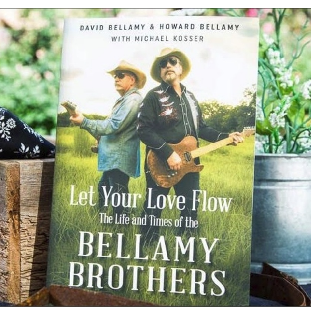 AUTOGRAPHED Let Your Love Flow The Life and Times Of the Bellamy Brothers Book